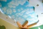 карнина на потолке из гипсокартона