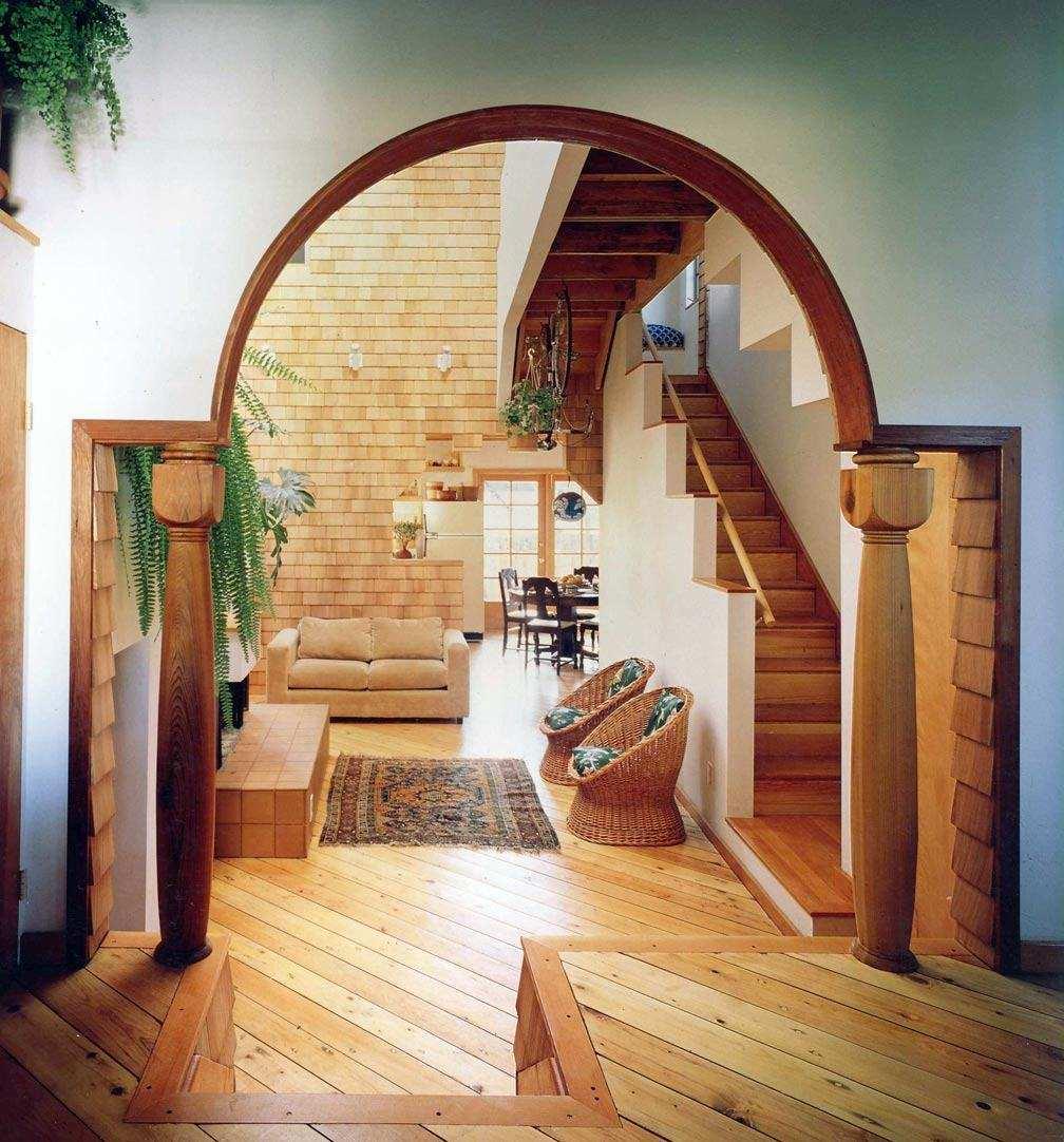 первом этаже отделка арок в доме фото национальный костюм