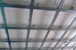 конструкция каркаса потолка