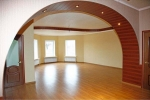арка из гкл в доме