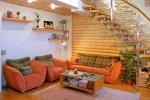 отделка лестницы в доме гипсокартоном