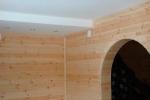 арка в доме из бруса