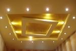 многоуровневый потолок из гкл