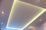 освещенеи потолка из гкл
