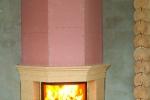 монтаж камина из огнестойкого гкл
