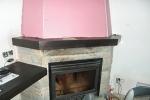 огнестойкий гипсокартон в трубе камина