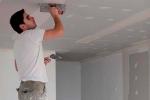 отделка швов на потолке