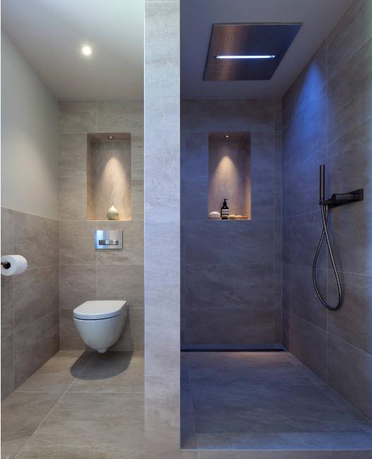 перегородка из гипсокартна в ванной комнате