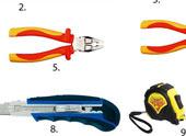 Основные инструменты для монтажа гипсокартона и профилей
