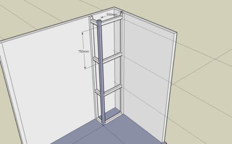 Проектирование короба из гипсокартона