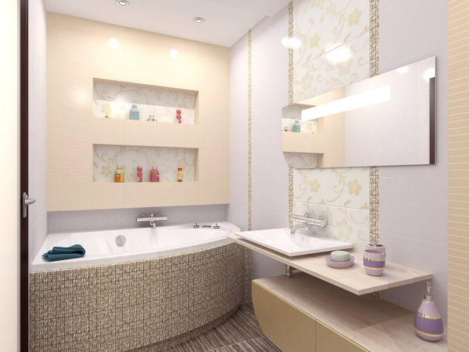 полки из гипсокартона для ванной комнаты