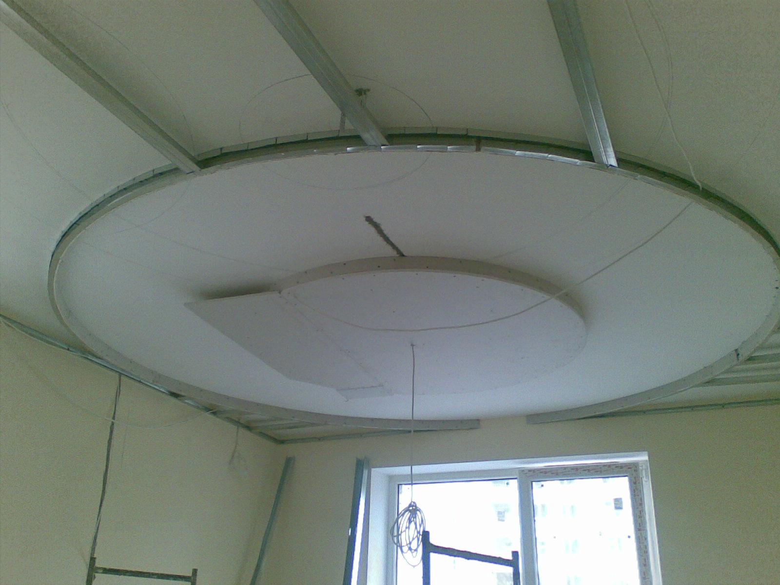2 уровневый потолок из гипсокартона своими руками фото 806