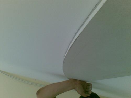 Рисуем радиус на потолке