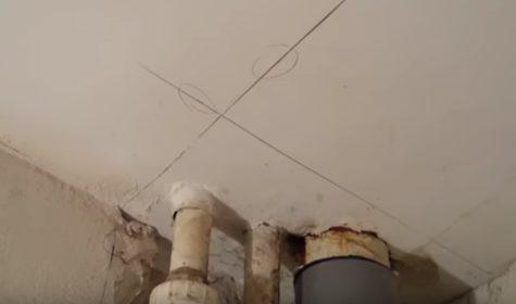 разметка на потолке