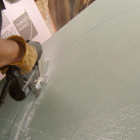 вырезаем арку из гипсокартона лобзиком