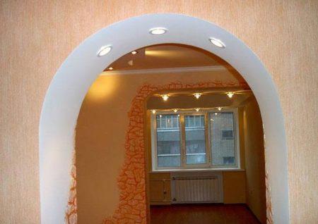 арка интерьер квартира