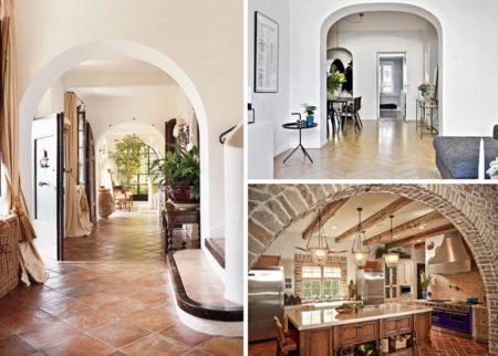 арки гостиная
