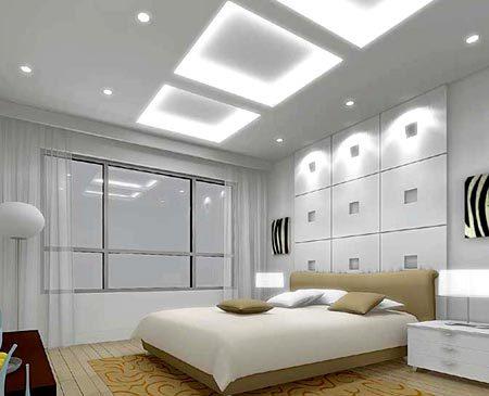 потолок лампа дневного света