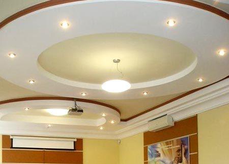 освещение потолок гипсокартон