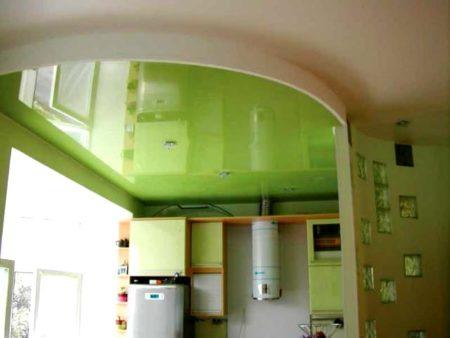кухня потолок хрущевка