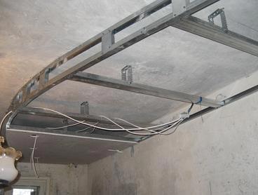провода проводка потолок
