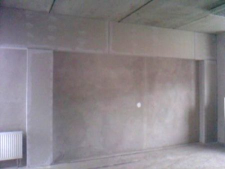 стена гипсокартонный короб