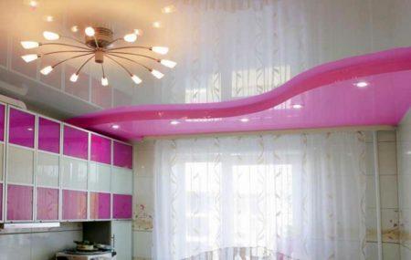 короб потолок кухня