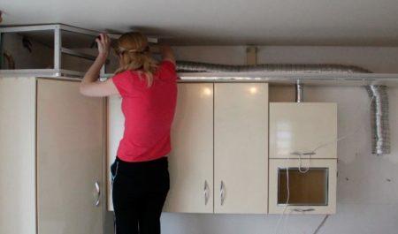 потолочный короб кухня