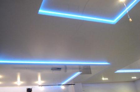 неоновое освещение потолок