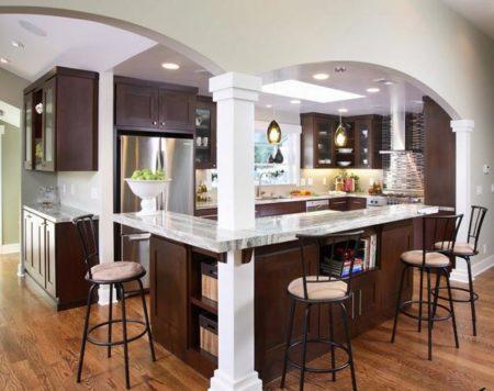 кухня арки дизайн