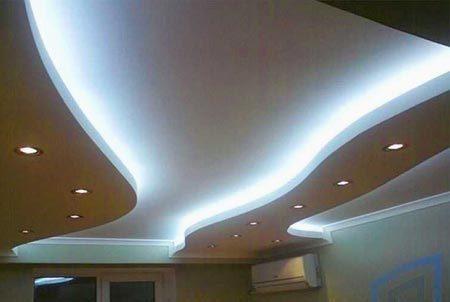 потолок мягкое освещение