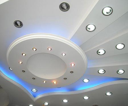 потолок открытая подсветка