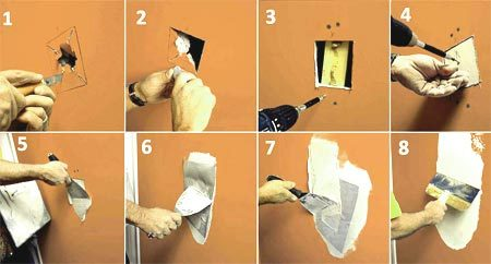 инструкция удаление отверстия