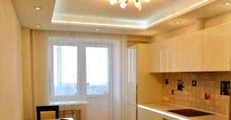 подсветка потолка гипсокартон