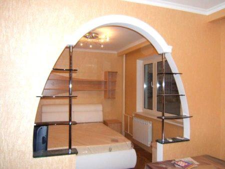сегментная арка