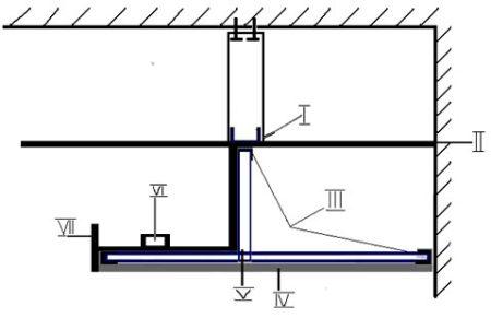 схема парящий потолок