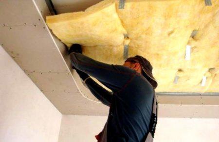 термоизоляция потолка