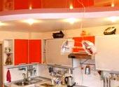 Гипсокартонные потолки на кухне: разнообразие выбора