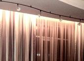 Гипсокартонные ниши для штор