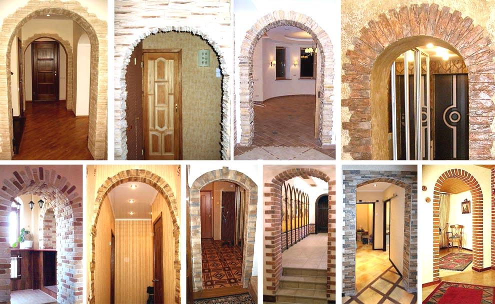как украсить арку в квартире фото устройства хорошо