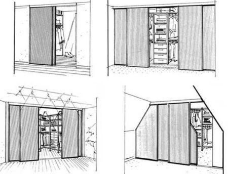 гардеробная двери