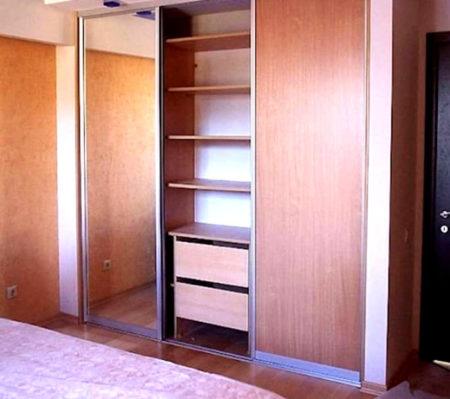 оформление шкаф гипсокартон