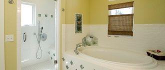 гипсокартонные стены в ванной