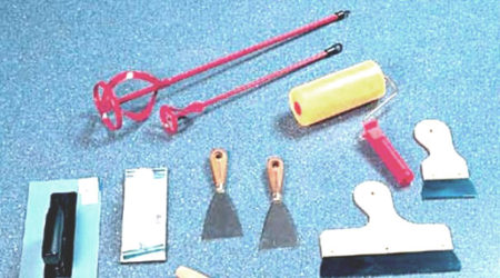 инструменты шпаклевка