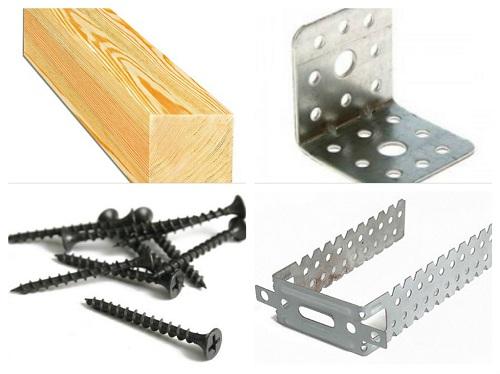 материалы для деревянного каркаса