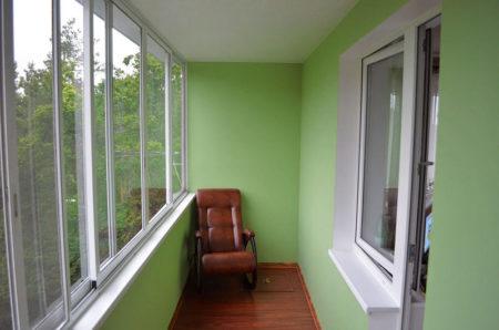 отделка балкон гипсокартон