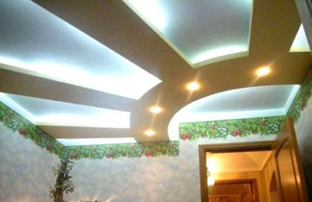 подвесной потолок гипсокартон