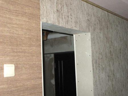 дверной проем гипсокартон