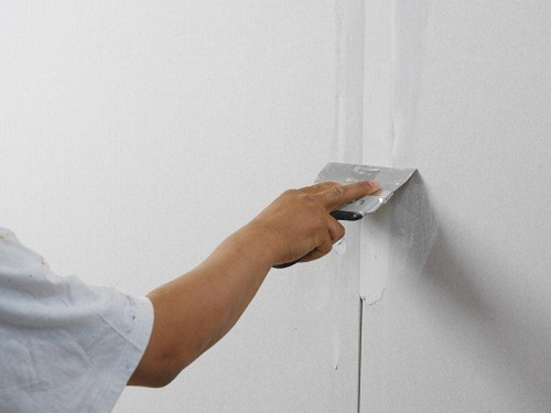 шпаклевка гипсокартонных стен