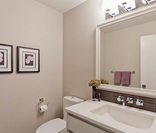 стены из гипсокартона в ванной